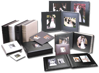 art leather wedding album